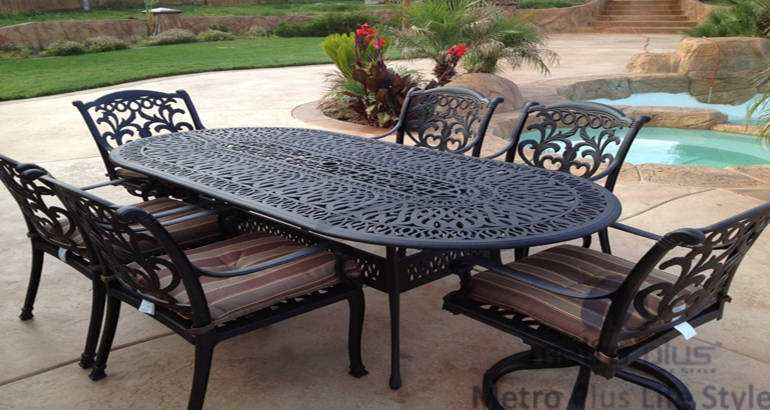 Cast Aluminium Sets Furniture