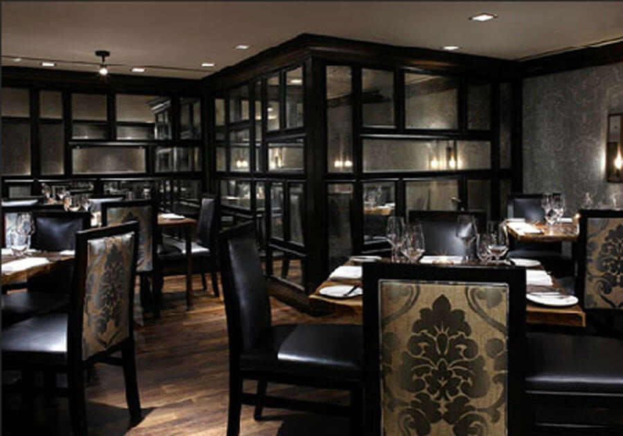 Modern restaurant furniture chairs in