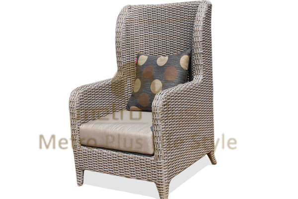 Wicker Hotel Chair