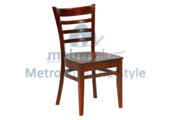 Wood Canteen Chair